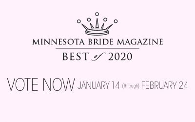 It's Time to Vote for MN Bride Best of 2020