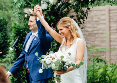 Short & Sweet Ceremonies at Camrose Hill Flowers