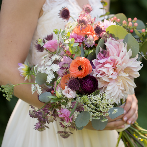 Wedding Floral by Camrose Hill Flower Studio & Farm