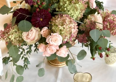 Table Arrangements by Camrose Hill