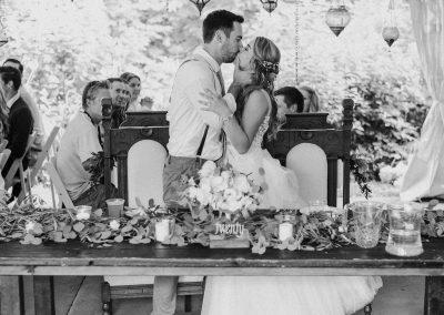 Wedding Reception at Camrose Hill